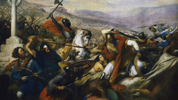 Charles Martel Defeats the Muslims
